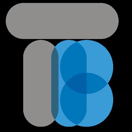 Logo représentant les lettres TB
